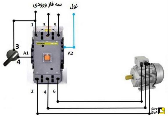 53866 128 578x400 - تبدیل الکتروموتور سه فاز بصورت تکفاز